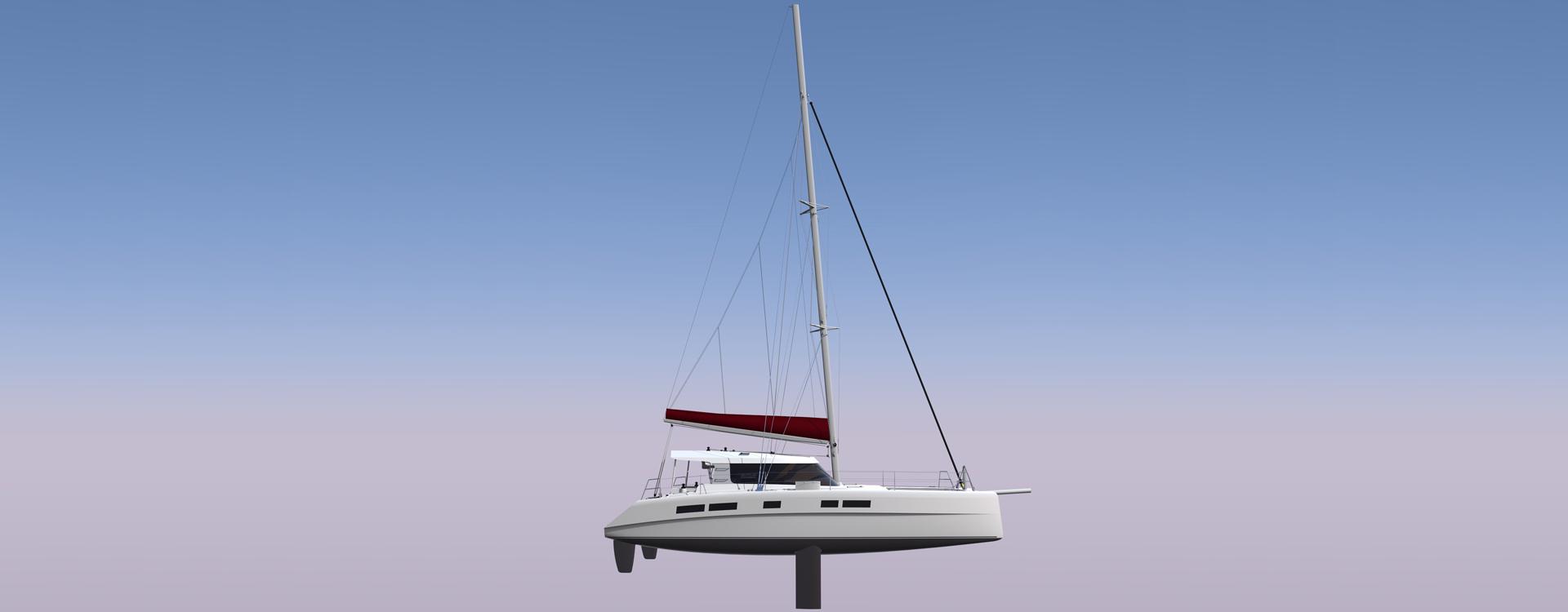 catamaran de croisiere, multicoque, voilier regate
