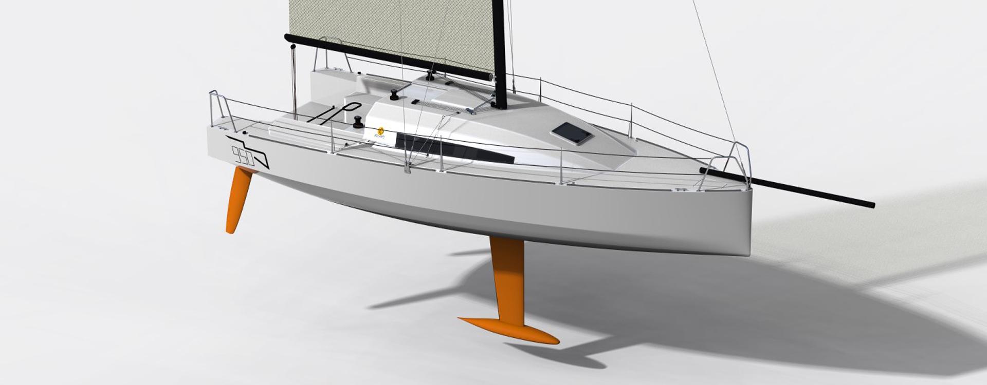 Classe 950 course au large voile voilier