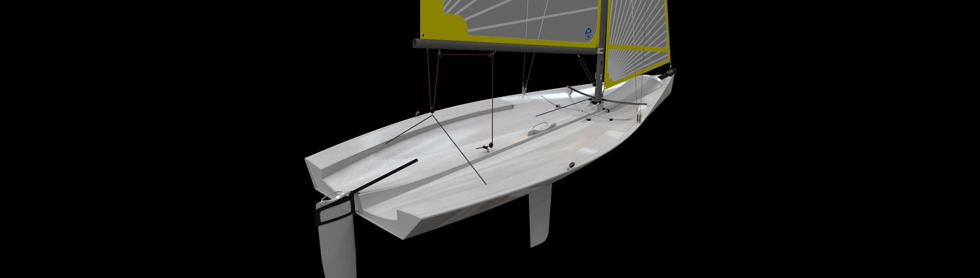 Sailboat, planing dinghy, one design class, dériveur
