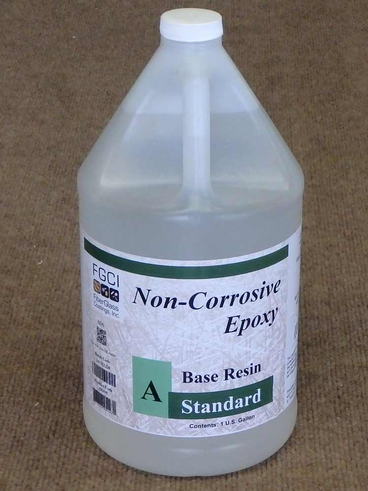 Fiberglass coatings standard epoxy resin 1gallon