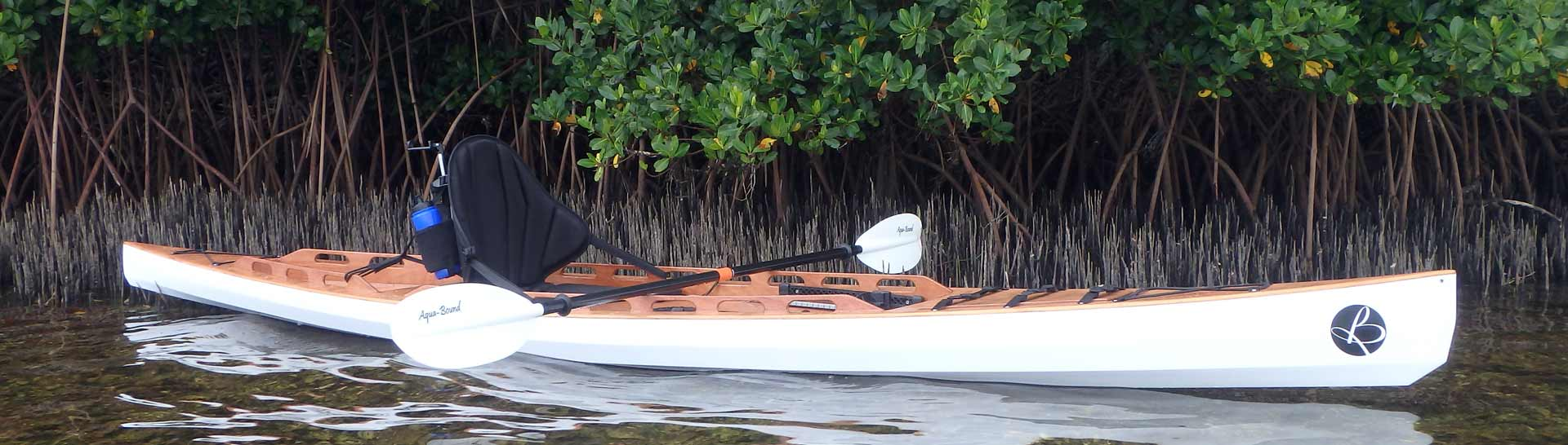 Fishing Yak wooden stitch&glue Bedard Yacht Design SOT kayak