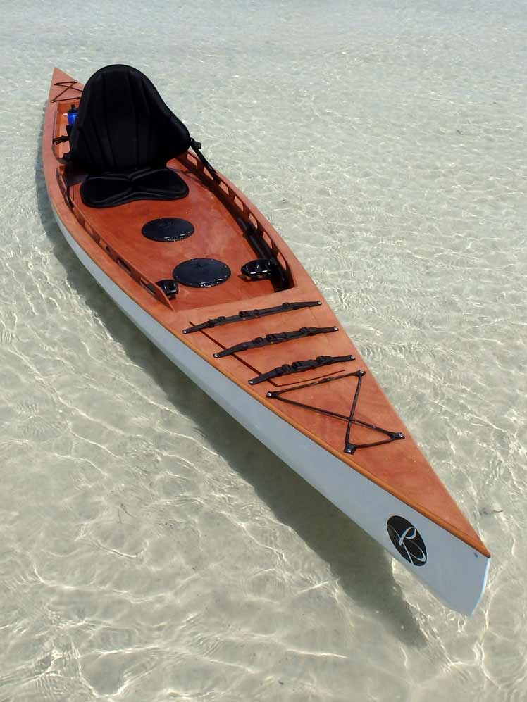 F1430 Fishing Kayak Wood Components – Bedard Yacht Design