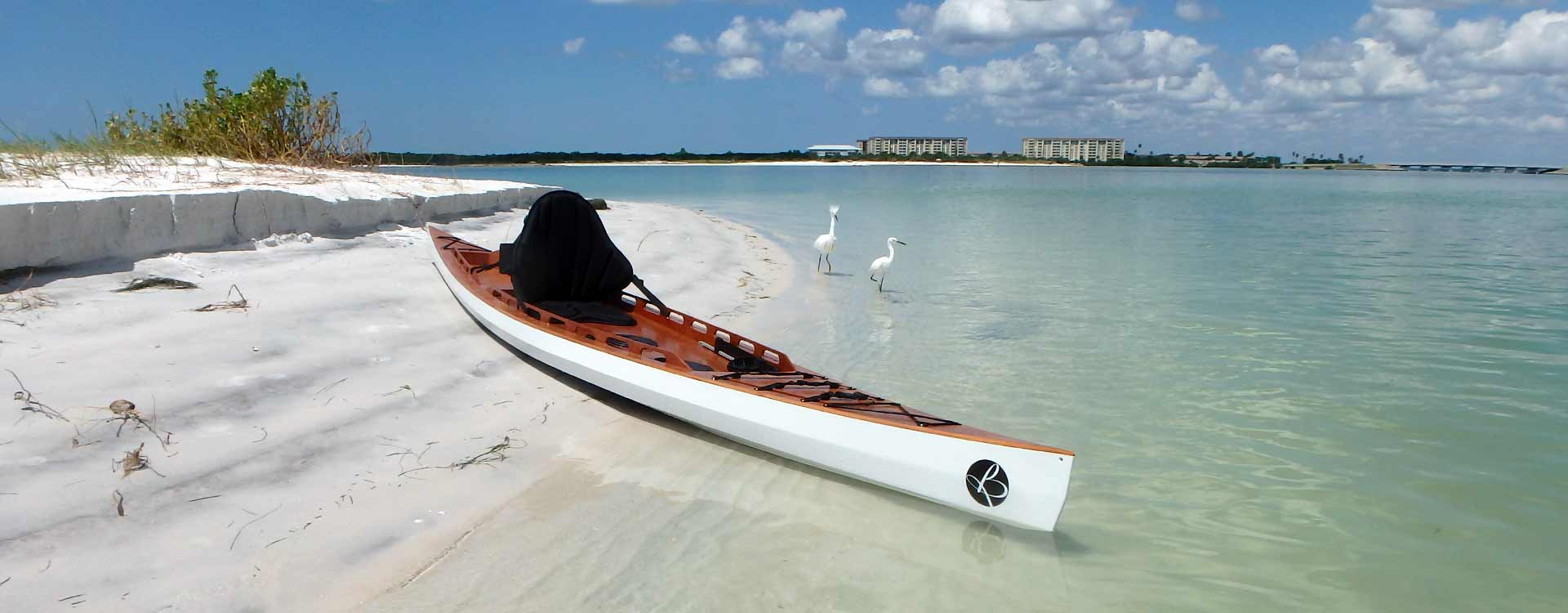 Fishing Yak wooden stitch&glue Bedard Yacht Design SOT kayak