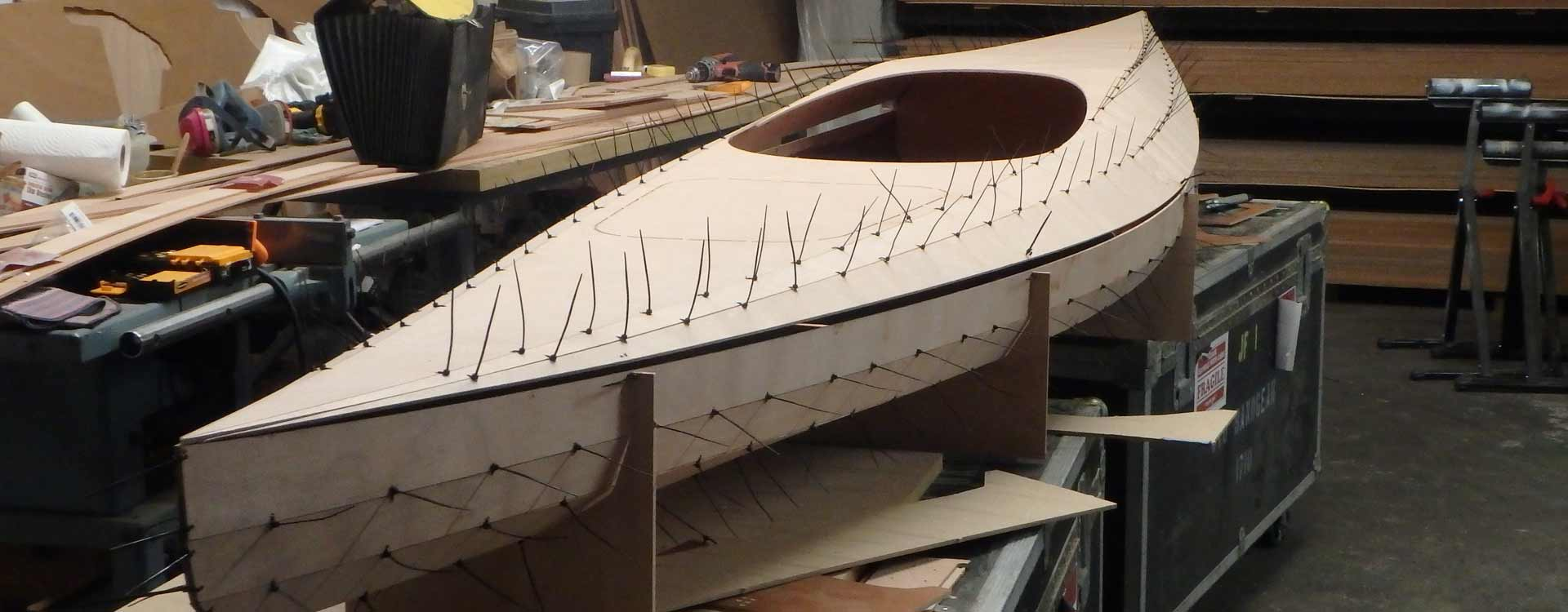 kayak building Workshops