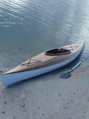 stitch and glue recreational kayak
