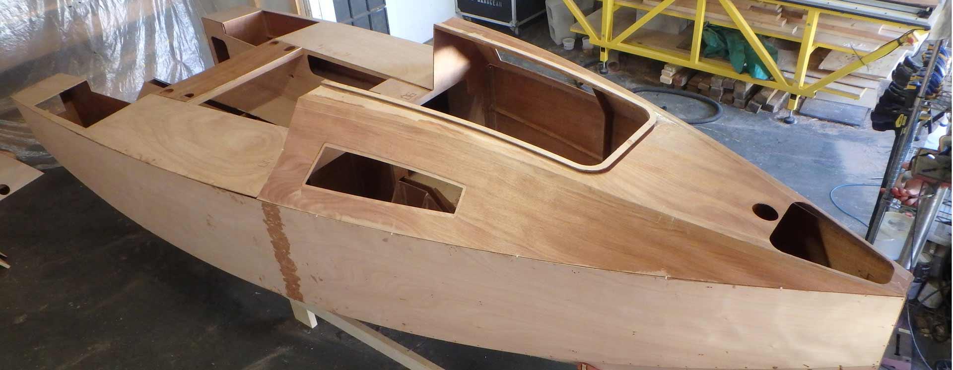 15′ RoG Micro-cruiser plywood kit – Bedard Yacht Design
